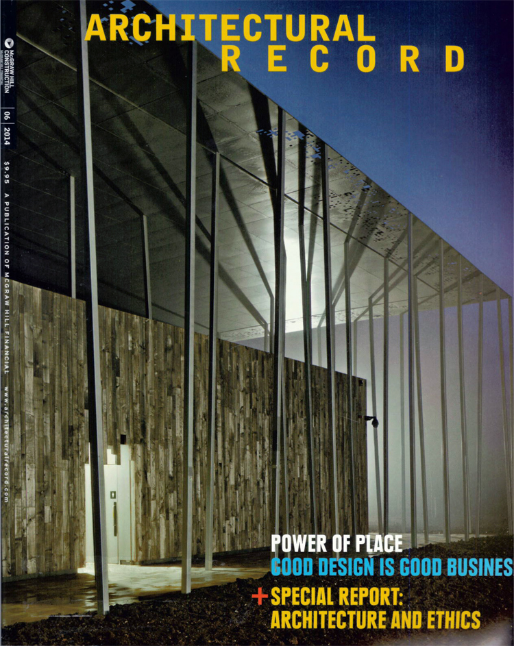 ARCHITECTURAL RECORD COVER