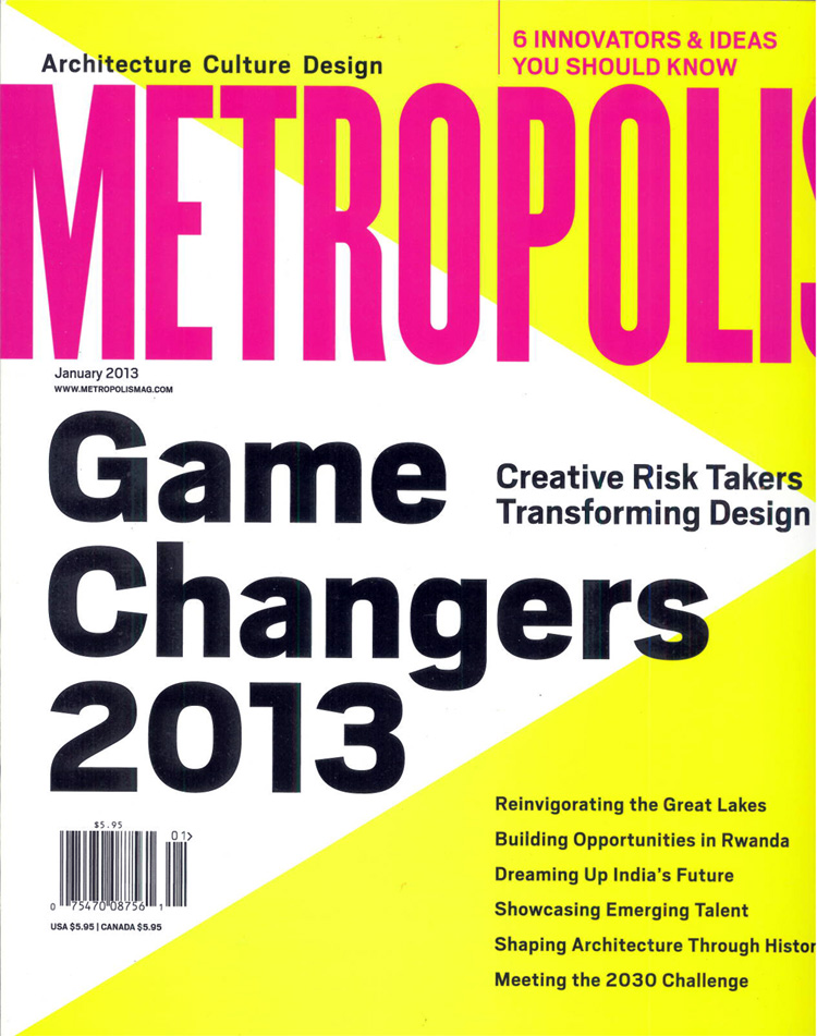METROPOLIS GAME CHANGERS COVER